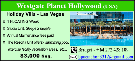 Westgate Planet Hollywood - $3000