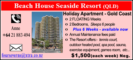Beach House Seaside Resort - $1500