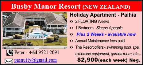 Busby Manor Resort - $2900