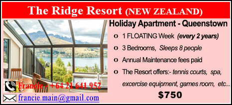 The Ridge Resort - $750