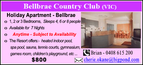 Bellbrae Country Club - $800