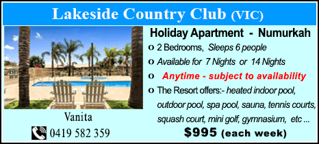 Lakeside Country Club - $995
