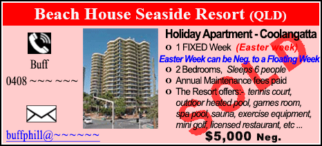 Beach House Seaside Resort - $5000 - SOLD