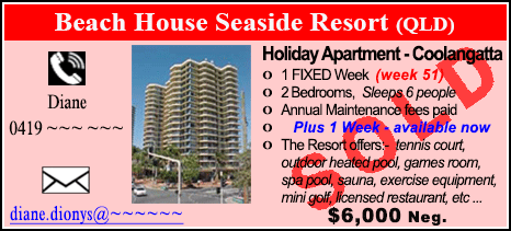 Beach House Seaside Resort - $6000 - SOLD