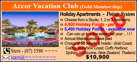 Accor Vacation Club - $10900 - SOLD