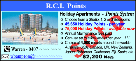 R.C.I. Points - $2200 - SOLD
