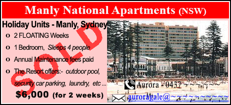 Manly National Apartments - $6000 - SOLD