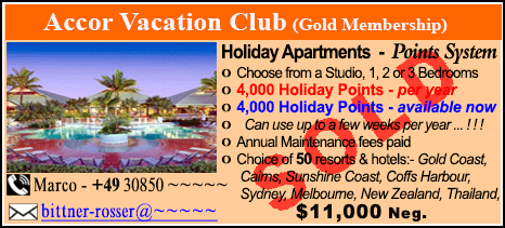 Accor Vacation Club - $11000 - SOLD