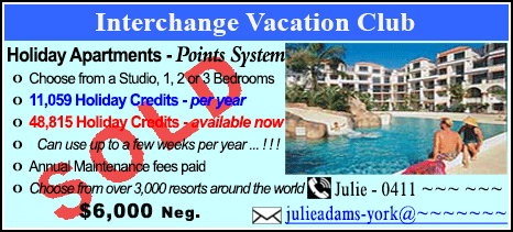 Interchange Vacation Club - $6000 - SOLD