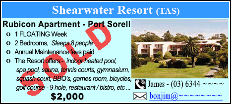 Shearwater Country Club - $2000 - SOLD