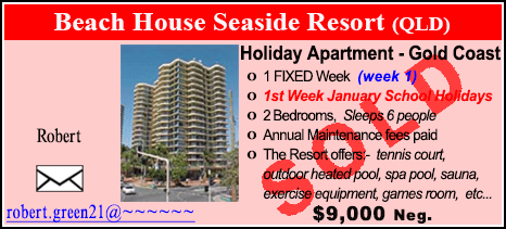 Beach House Seaside Resort - $9000 - SOLD