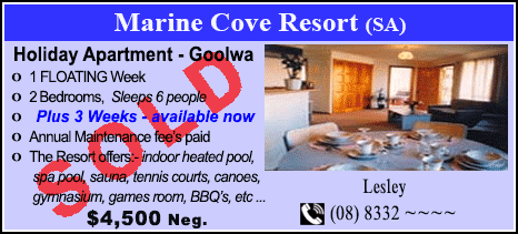 Marine Cove Resort - $4500 - SOLD