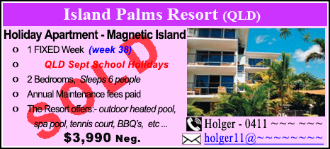 Island Palms Resort - $3990 - SOLD