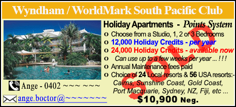 Wyndham Vacation Resorts - $10900 - SOLD