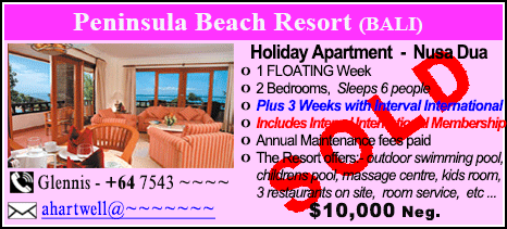 Peninsula Beach Resort - $10000 - SOLD