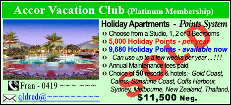 Accor Vacation Club - $11500 - SOLD