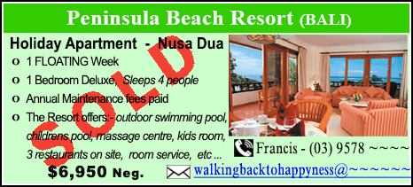 Peninsula Beach Resort - $6950 - SOLD