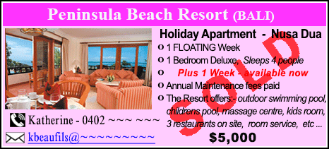Peninsula Beach Resort - $5000 - SOLD