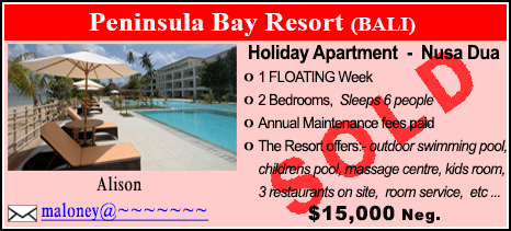 Peninsula Bay Resort - $15000 - SOLD