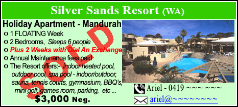Silver Sands Resort - $3000 - SOLD