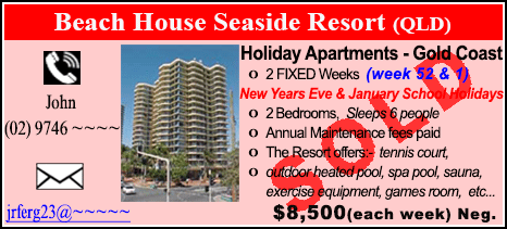 Beach House Seaside Resort - $8500 - SOLD