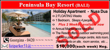 Peninsula Bay Resort - $10000 - SOLD