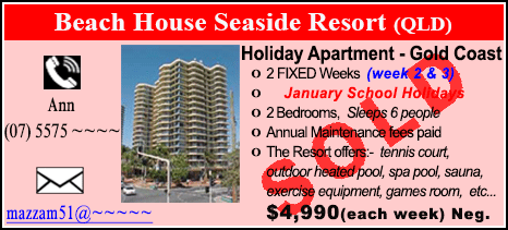 Beach House Seaside Resort - $4990 - SOLD
