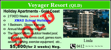 Voyager Resort - $5800 - SOLD