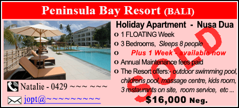 Peninsula Bay Resort - $16000 - SOLD