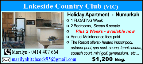 Lakeside Country Club - $1200