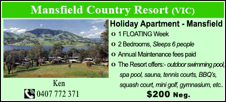 Mansfield Country Resort - $2000