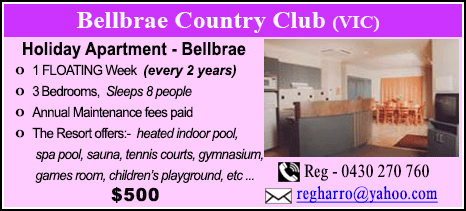 Bellbrae County Club - $500
