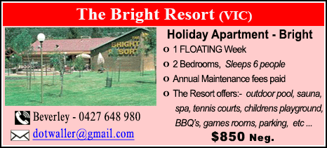 The Bright Resort - $850