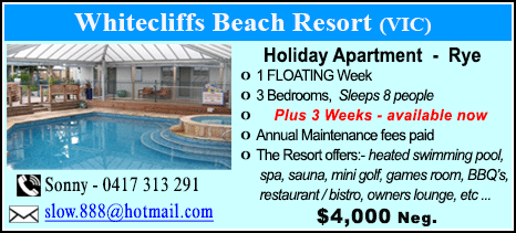 Whitecliffs Beach Resort - $4000