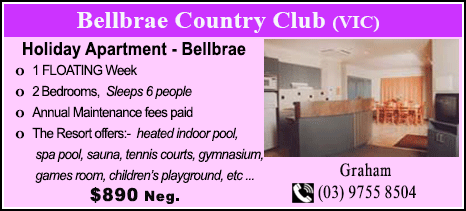 Bellbrae County Club - $890