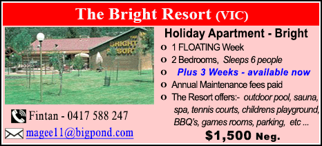 The Bright Resort - $1500