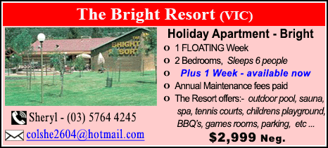 The Bright Resort - $2999