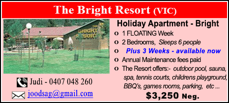 The Bright Resort - $3250