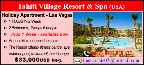Tahiti Village Resort & Spa - $33000
