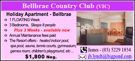 Bellbrae County Club - $1800