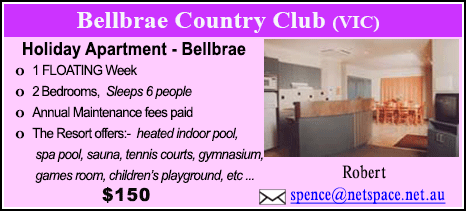 Bellbrae County Club - $150