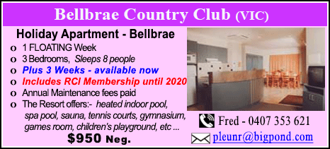 Bellbrae County Club - $950