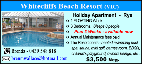 Whitecliffs Beach Resort - $3500