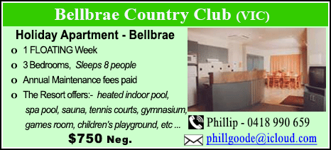 Bellbrae County Club - $750