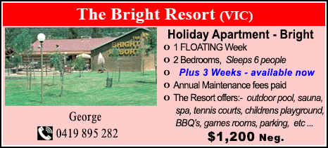 The Bright Resort - $1200