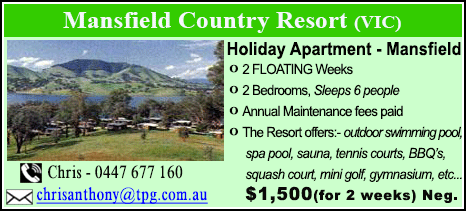 Mansfield Country Resort - $1500