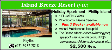 Island Breeze Resort - $2500