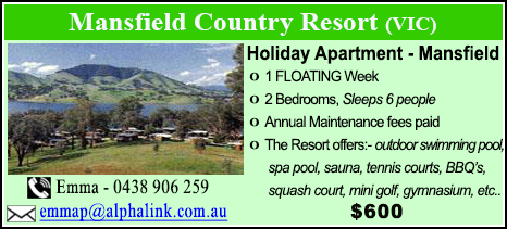 Mansfield Country Resort - $900