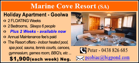 Marine Cove Resort - $1900