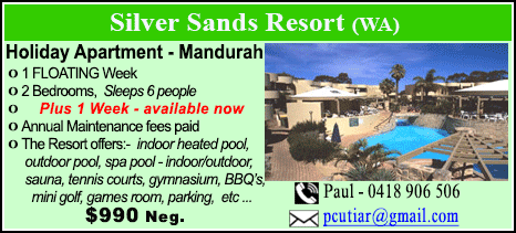 Silver Sands Resort - $990